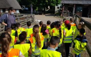 Besuch beim AWO Kinder- und Jugendbauernhof